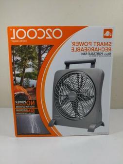 """O2COOL 10"""" Battery Operated Fan - Portable Smart Power Fan"""