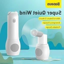 Baseus 2000mAh USB Fans Mini HandHeld Cooler Desktop Recharg