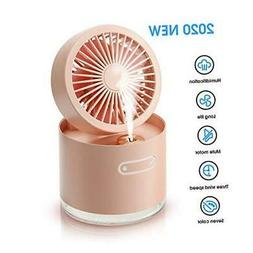 2020 Upgraded Desktop Air Cooler Fan, Portable Air Humidifie