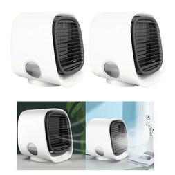 2pcs mini fan cooling portable air conditioner