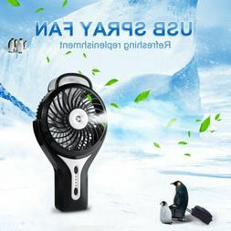 3 Inch DC Brushless Mini Cooling Mist Humidifier USB Recharg