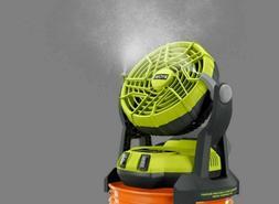 ☀BULK RYOBI 18-Volt ONE + Hybrid Portable Bucket Top MISTI