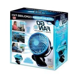 Go Fan Cordless Rechargeable Fan Plastic 1 Pk