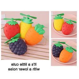 cute fruit shape usb rechargeable portable desktop