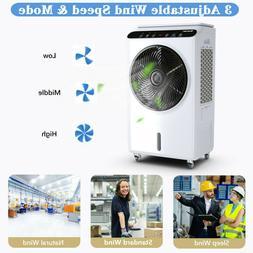 Evaporative Portable Air Conditioner Cooler Fan Humidifier w