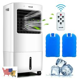 Evaporative Portable Air Cooler Fan With Remote Control