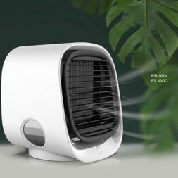 Fan Cooling Rechargeable Portable Water Cooled USB Air Purif