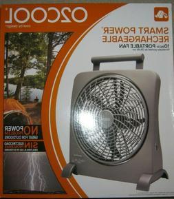 "O2 COOL FD10006AU 10"" Portable Smart Power Fan"