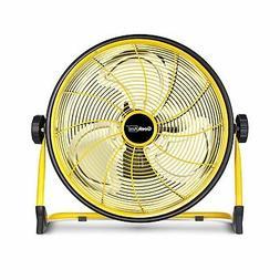 GeekAire Rechargeable Outdoor High Velocity Floor Fan,16'' P