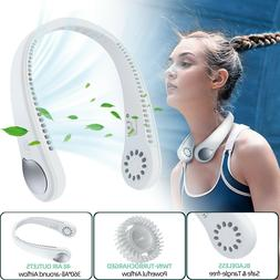 Hand Free Portable Personal Neck Fan Necklace Mini Air Condi