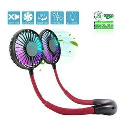 Hands Free Neck Fan,Portable Neck Fan,Mini USB Personal Fan