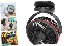 koonie 10000mah clip fan rechargeable battery operated
