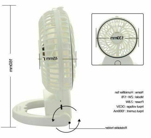 New Fan Portable Pocket Handy Air Cooler Mist Battery