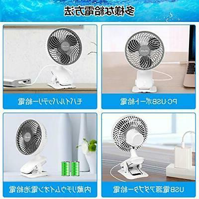 KEYNICE small rechargeable fan clip