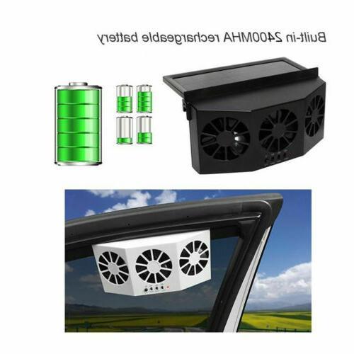 Car Solar Cooling Quiet Conditioner