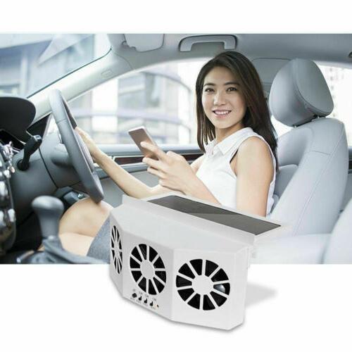Car Solar Rechargeable Auto Quiet