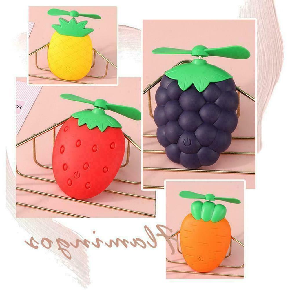 Cute shape Rechargeable Portable Gift Fan Durable