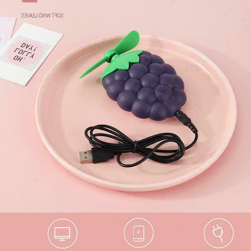 Cute Fruit shape Rechargeable Fan