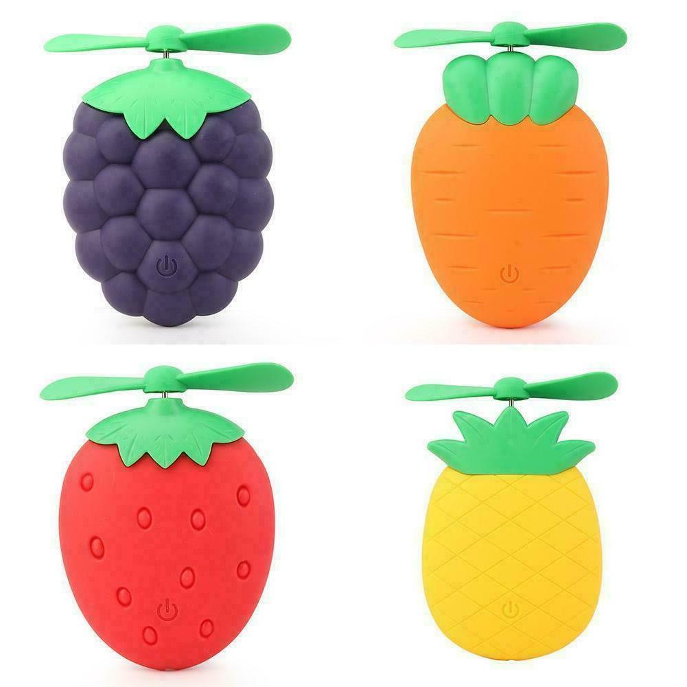 Cute Fruit Rechargeable Fan Home Durable