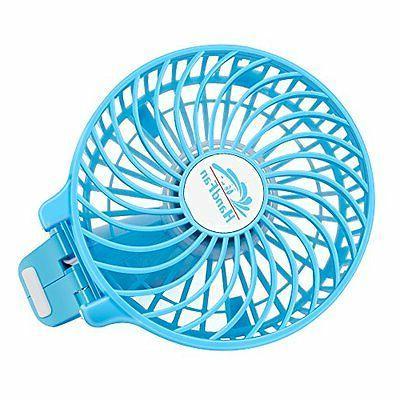 Fan Clip Speed Setting Portable Mini Sky Blue