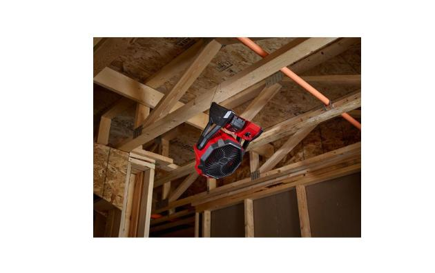 M18 18-Volt Lithium-Ion Jobsite Fan Milwaukee Powerful