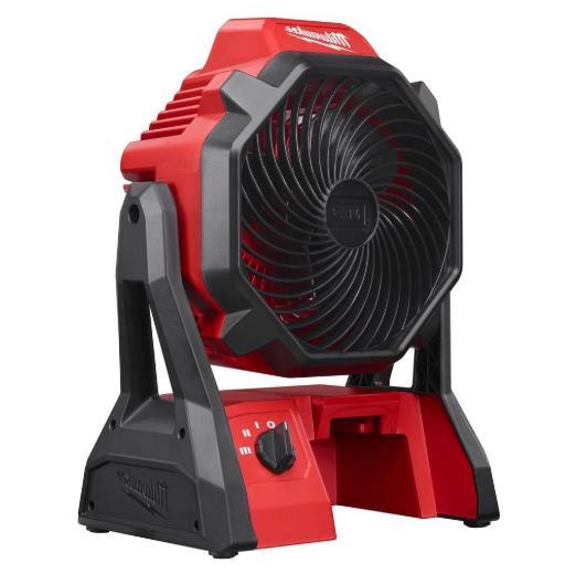 Milwaukee 0886-20- Portable Cordless Jobsite Fan AC Adaptor Tool