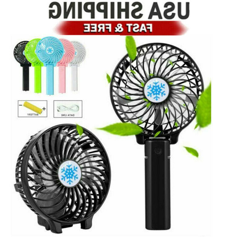 mini battery operated fan foldable portable rechargeable