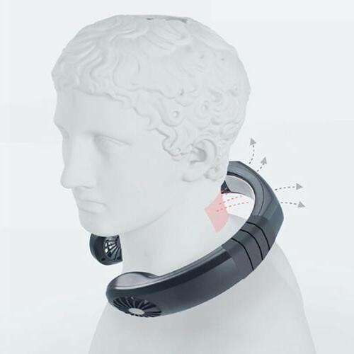 Portable USB Neck Wearable Air Conditioner Fan
