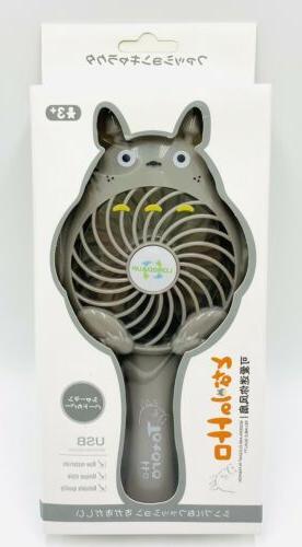 new totoro portable fan handheld rechargeable mini
