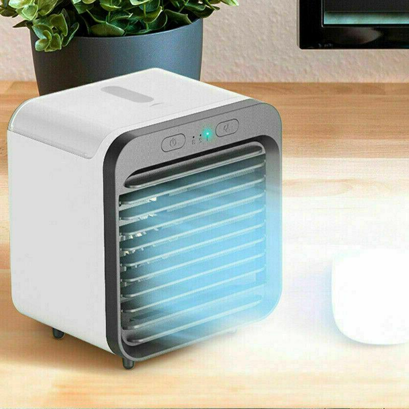 Portable Cooler Fan Humidifier Purifier Air Cooling USB