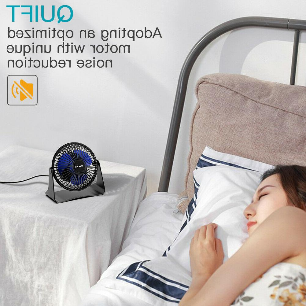Portable Adjustable Head 3-Speeds 3.9 ft Cooling