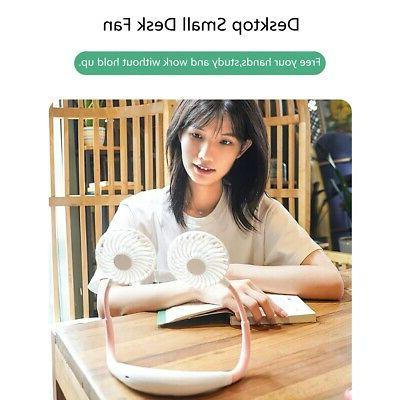 Portable Fan Lazy Neckband Rechargeable Personal
