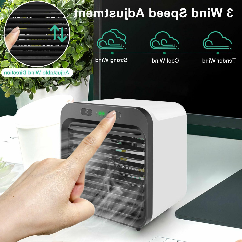 Summer Air Cooler Portable Mini Air Fan Humidifier