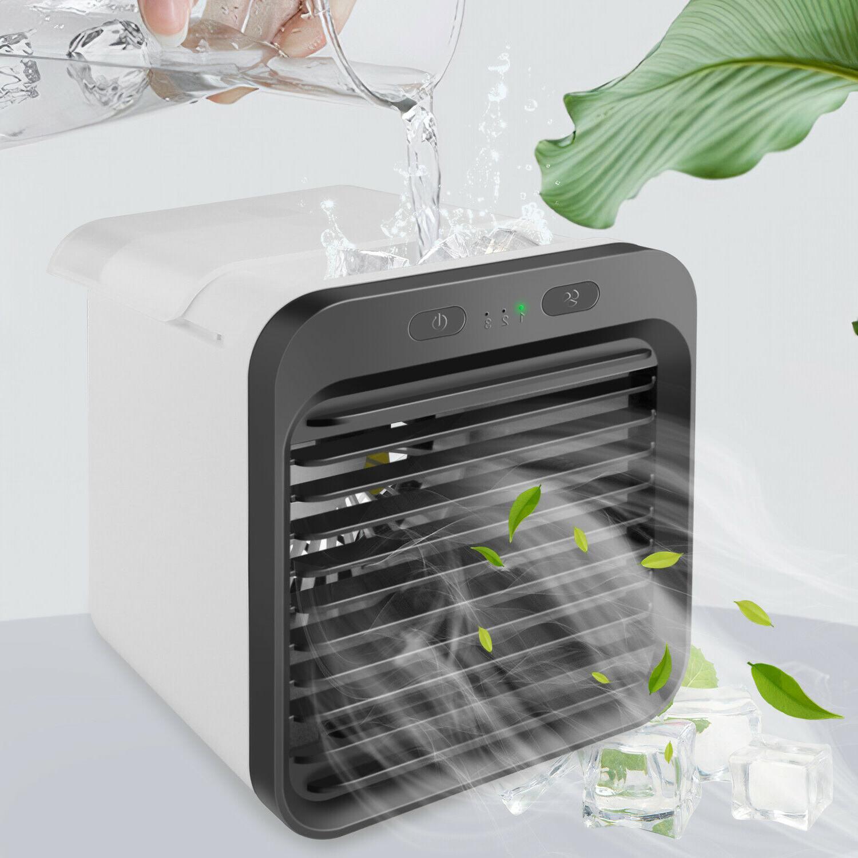 portable mini air cooler fan air conditioner