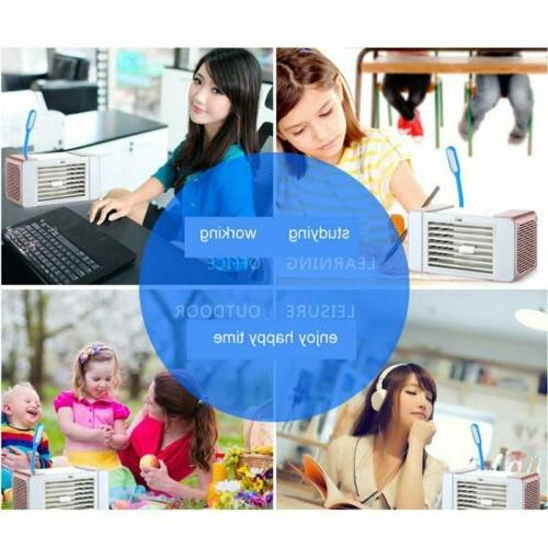 Portable USB Air Conditioner Cooling Artic Air Cooler Humidifier