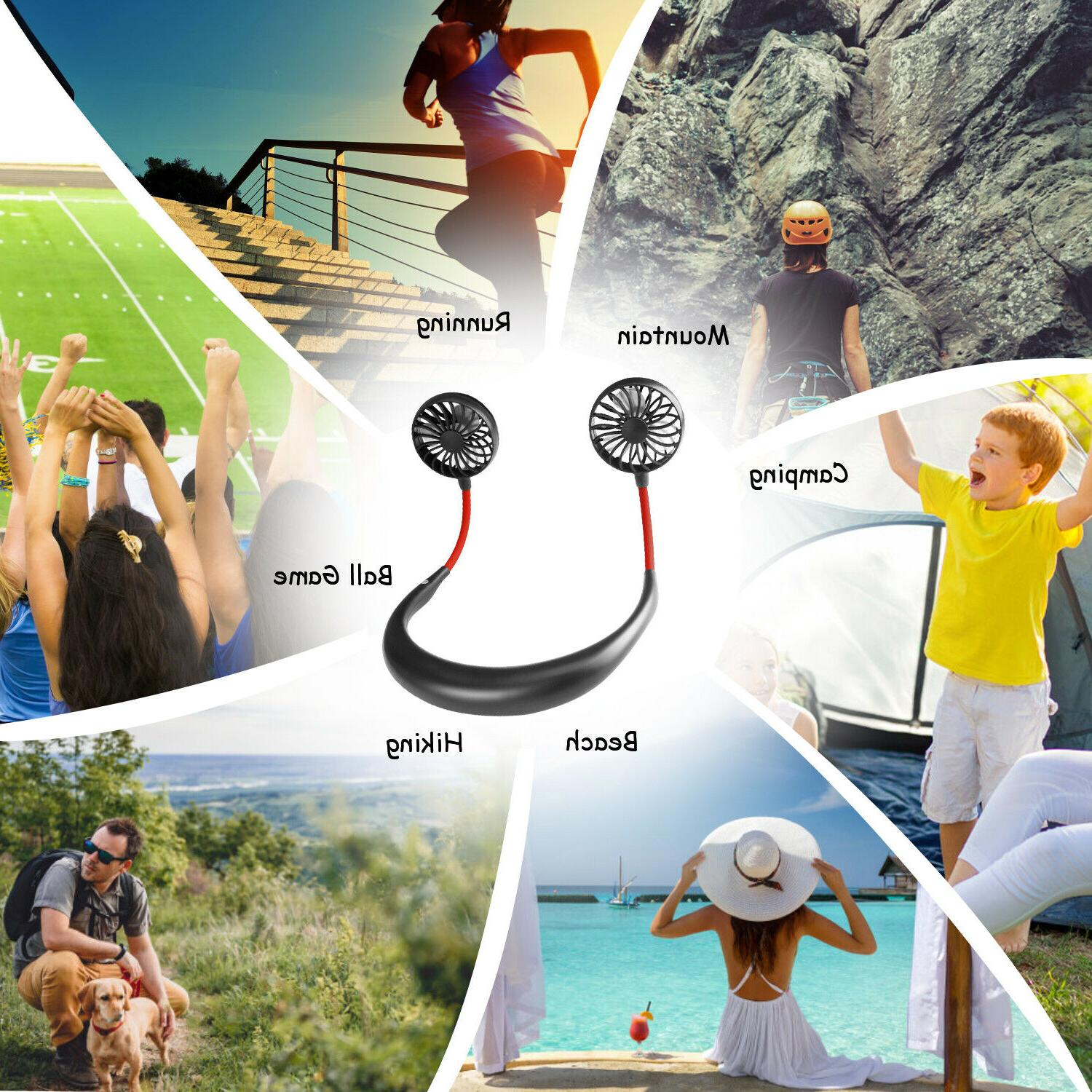 Portable Rechargeable Sport Hanging Cooling