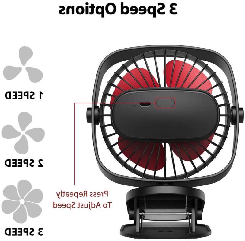 VersionTECH. Stroller Fan,