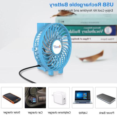 VersionTECH. Mini USB Fan, Personal Portable
