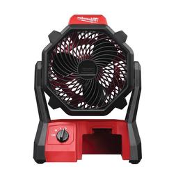 Milwaukee 0886-20 M18 Portable Jobsite Fan 18 volt with AC A