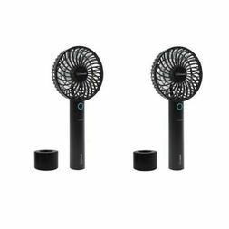 """Geek Aire Mini 4"""" Cordless Personal Handheld Fan w/ Power Ba"""