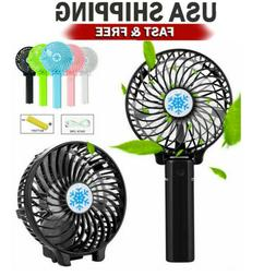 Mini Battery Operated Fan,Foldable Portable Rechargeable USB