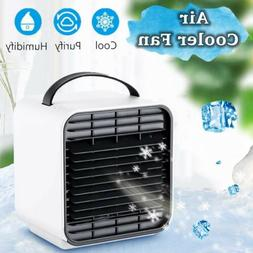 Mini Negative Ion Portable Air Conditioner, Evaporative Air