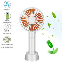 Mini Portable USB Fan Rechargeable Handheld Air Cooler Cooli