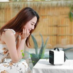 Mini USB Rechargeable Humidifier Air Conditioner Purifier Fa