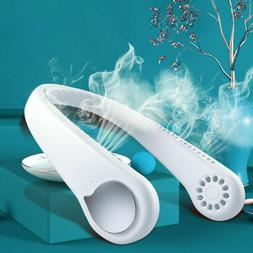 Neck Fan Portable Personal Cooler Rechargeable Hanging Weara