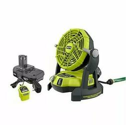 ☀New RYOBI 18-Volt ONE+ Hybrid Portable Bucket Top MISTING