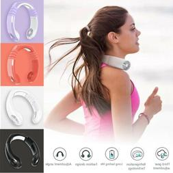 NEW Portable USB Rechargeable Mini Neck Wearable Cooling Air