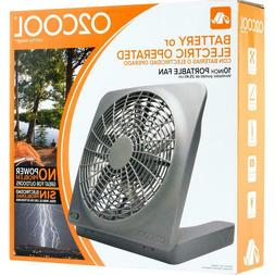 O2COOL 10 IN Portable Fan, Battery Operated