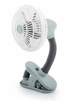 O2COOL 4 Inch Clip On Stroller Fan | Portable, Battery Opera