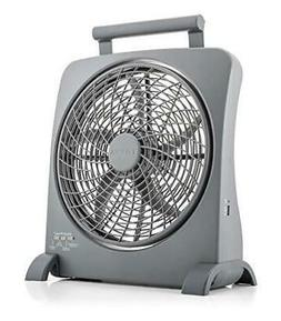 O2COOL Treva Portable Battery Operated Fan – 10 Inch Blade